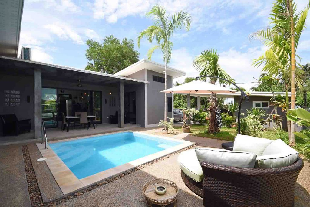 Krabi villa for sale near to beach