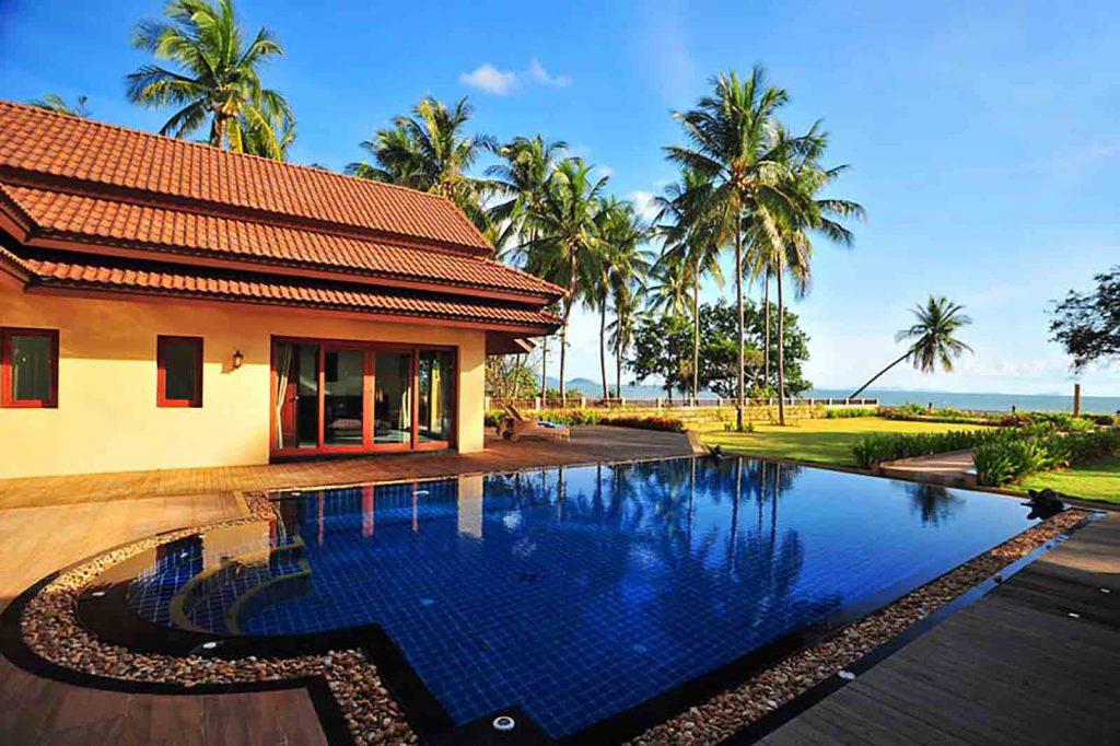 Krabi beachfront villa for sale